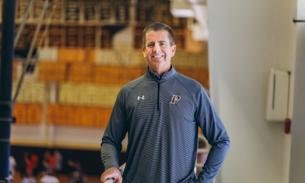A Coach at Heart   Parker's veteran volleyball coach reflects on his year as interim Athletic Director