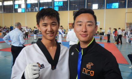 DAVID KIM '18 | TAEKWONDO MASTER / OLYMPIAN-IN-TRAINING