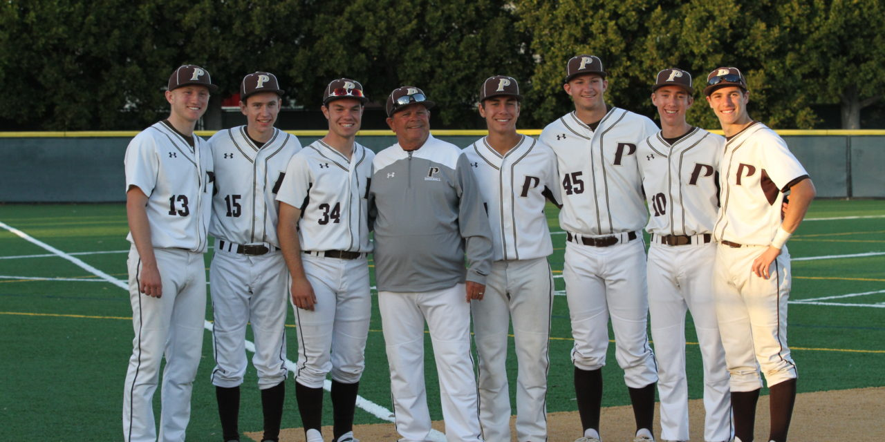 GLASSEY TO BE INDUCTED INTO HALL OF HONOREES FOR SUCCESS AS PARKER'S BASEBALL COACH