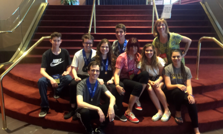PARKER RECEIVES SUPERIOR RATINGS AT INTERNATIONAL THESPIAN FESTIVAL