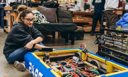 Watch Them Build a Robot: The 2018 Robotics Build Season