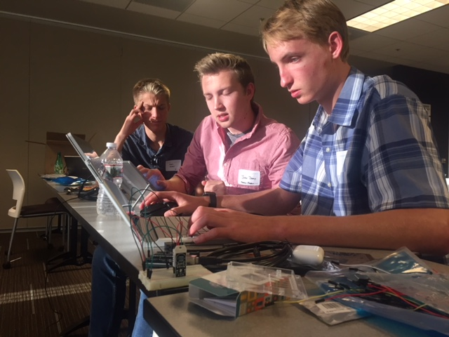 Upper School Students Join BlueMetal and Microsoft Experts for Hackathon