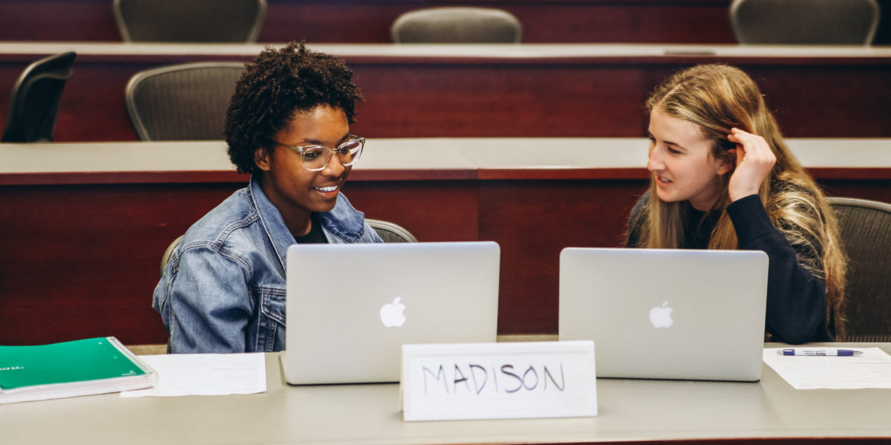 STUDENTS GAIN REAL-WORLD BUSINESS EXPERIENCE IN THE INTERIM WEEK COURSE LAUNCHPAD