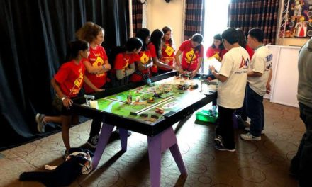 All-Girls Robotics Team Takes Home First Prize for Teamwork in Regional Competition