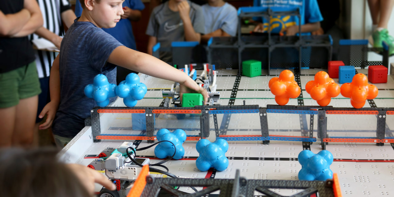 Students build and battle their way to a STEM education at Parker's Robo.Camp 2017