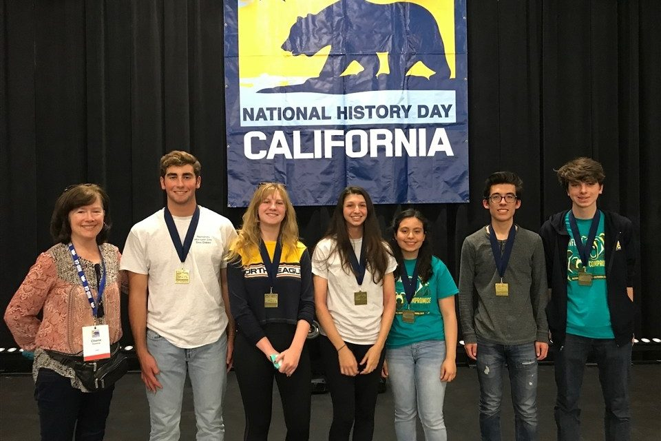 Parker Students Rock the State History Day Competition and Move on to Nationals