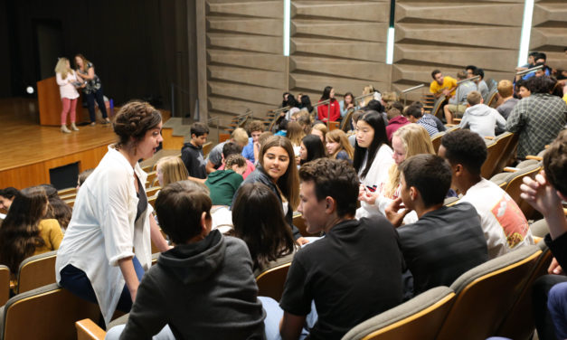 Parker's Freshman Class Learns a Lesson in Character Education