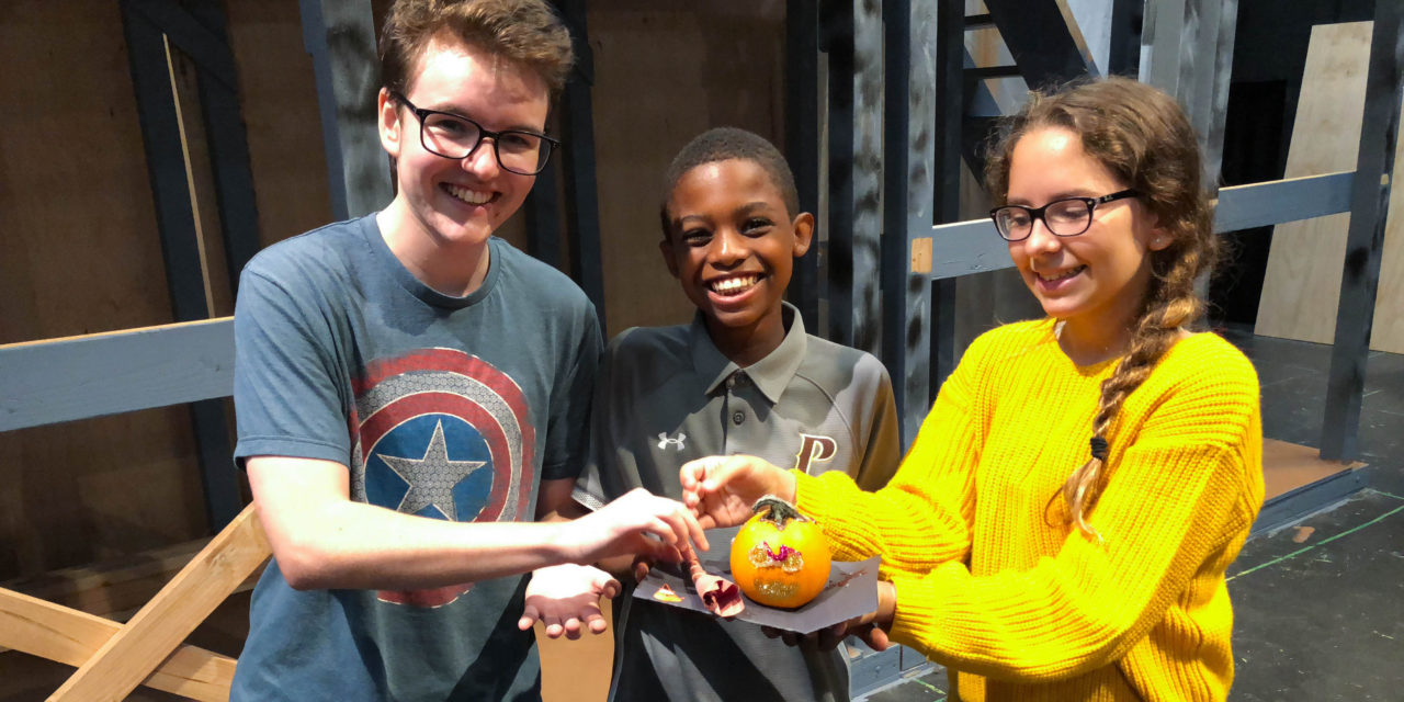 Drama Club Mentor Program fosters student collaboration and teamwork