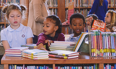 Library Lessons: The hidden lessons of Parker's Lower School library