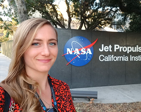 Julie Jester Newman '10 | Electronics Engineer, NASA Jet Propulsion Laboratory