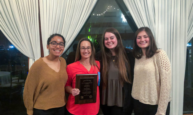 HSSA recognizes Parker's Athletic Trainer as A.T. of the Year