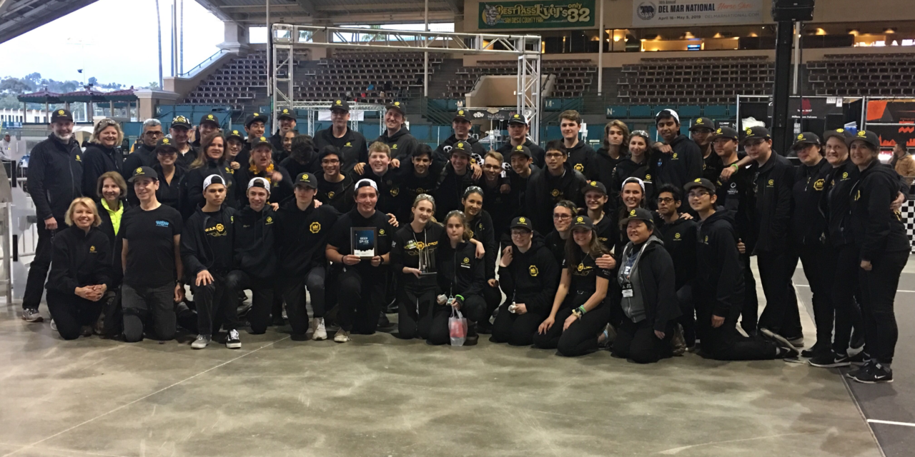 Upper School Robotics Team Receives Engineering Inspiration Award for the Fourth Time