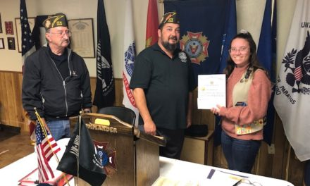 Encanto Chapter of Veterans of Foreign Wars Name Parker Student as their Scout of the Year