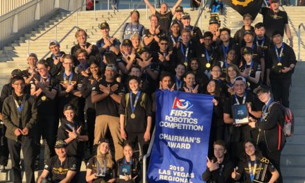 Parker Robotics team Wins Chairman's Award for the Third Time