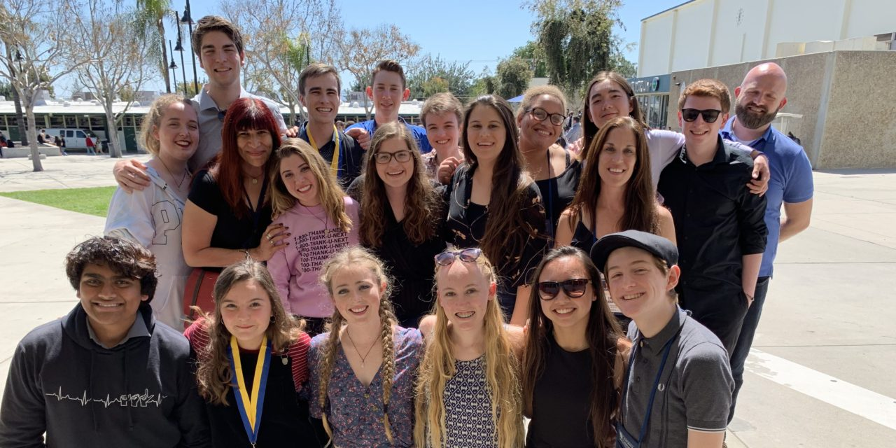 Drama Club students take home awards from California Thespian Festival