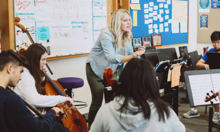 Dr. Sarah Gongaware Middle and Upper School Music Teacher