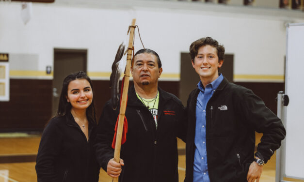 Upper School Honors Indigenous Peoples in Land Acknowledgement Ceremony