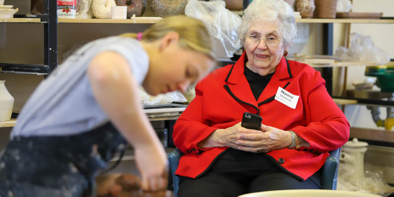 Grandparents Day at Middle and Upper School