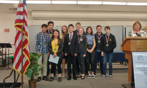 Parker Students Score Big at National History Day Regional Competition
