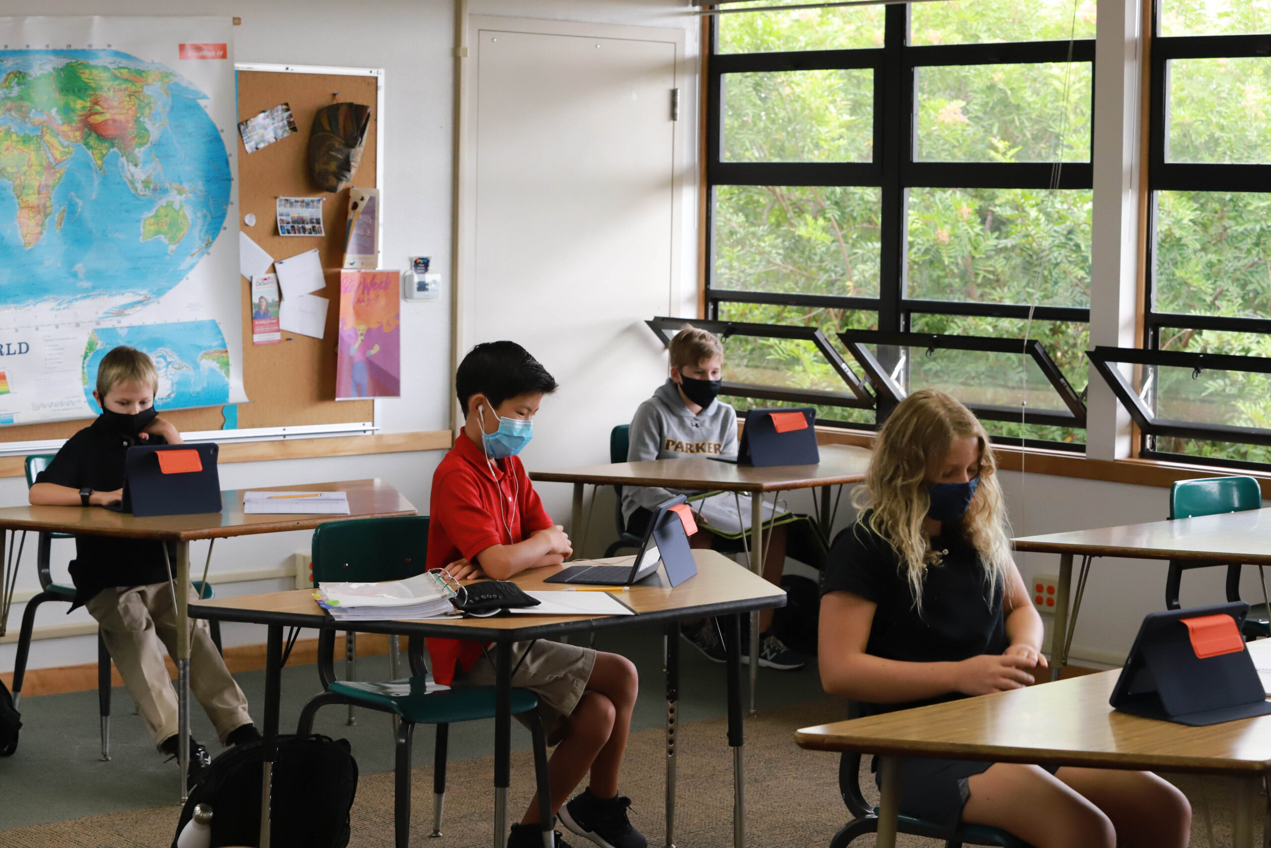In the News: Parker welcomes students back to classroom in flexible hybrid model