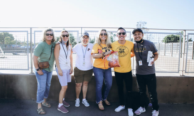 Parker Welcomes Back Fans with 'Athletic Palooza'