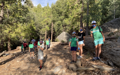 Grade 6 Students Enjoy Camp Experience in Idyllwild